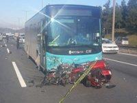 Ümraniye TEM Otoyolu'nda kaza: 2 Ölü