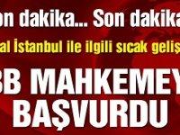 Kanal İstanbul ÇED Raporu'nun iptali için dava açıldı