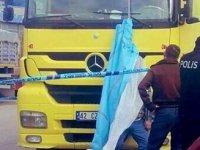Konya'da kamyon şoförü, kendisini kamyona asarak intihar etti