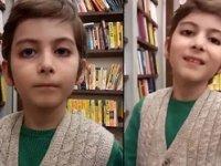 10 Yaşındaki filozof Atakan sosyal medyanın gündeminde