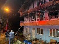 Amasra'da feci yangın! Babaanne ile 2 torunu hayatını kaybetti