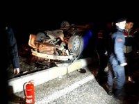 Denizli'de yolcu otobüsü ile otomobil çarpıştı! 3 Ölü