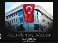 Çankırı Belediye Başkanı Esen: Şanlı Türk ordumuzun yanındayız