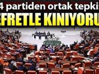 Meclis'te 4 siyasi partiden İdlib saldırısına ortak tepki!