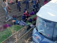Adana'da minibüs şarampole uçtu! 3 Ölü, 14 yaralı