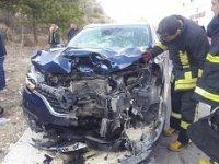 Çankırı'da kaza! Bir ölü, bir yaralı