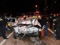 Burdur'da kaza: Bir ölü bir yaralı