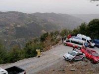 Alanya'da otomobil uçurumdan düştü: 1 Ölü, 1 yaralı