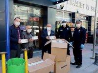 ÇATSO'dan Çankırı Belediyesi'ne 5 bin maske