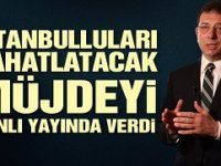 Ekrem İmamoğlu: 2020 Yılında İstanbul'da su sorunu yaşanmayacak