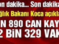 18 Nisan 2020 Corona virüs rakamları! Vaka sayısı 3 bin 783, ölüm 121