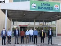 Adana Büyükşehir Belediyesi'nin kurduğu sahra hastanesi mühürlendi