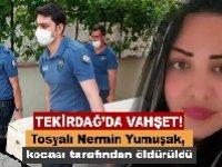 Tekirdağ'da kadın cinayeti! Boşanma aşamasında olduğu eşini öldürdü