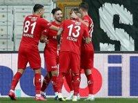 Beşiktaş: 1 - Fraport TAV Antalyaspor: 2