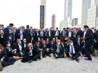 Ankara'da baroların yürüyüşüne polis engeli