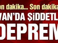 Van Özalp'ta 5.4'lük deprem!