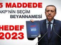 Erdoğan: Hayal tacirliği yapmayacağız