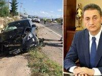 Sinop Valisi Karaömeroğlu'nun makam aracı Çankırı'da kaza yaptı! Bir ölü