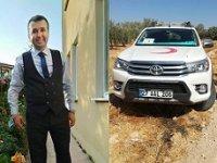 Suriye'de Kızılay ekibine saldırı: 1 şehit, 1 yaralı