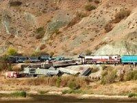 Ankara'da iki tren çarpıştı! İki ölü