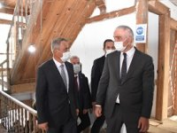Kültür Turizm Bakanı Ersoy Çerkeş'de