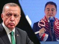 """Babacan'dan Erdoğan'a çok sert tepki: """"Şuur falan kalmamış"""""""