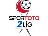 Spor Toto 2. Lig'de günün sonuçları