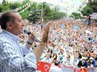 Başbakan Erdoğan Çankırı Belediye Meydanında