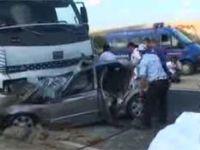 Çorluda katliam gibi kaza: 6 ölü - İZLE