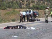 Karabükteki kazada karı-koca hayatını kaybetti
