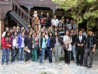 Yeni üniversiteliler Çankırıyı gezdi