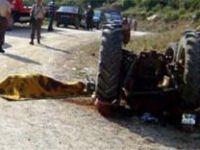 Çankırı'da traktör devrildi: 1 ölü