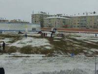 Atatürk Stadının hali içler acısı