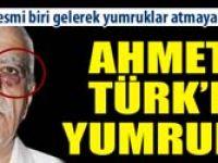 Ahmet Türke polis yumruğu