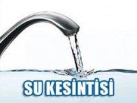 Çankırı'da 24 saat süreyle su kesintisi
