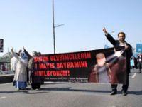 İslamcı grup da Taksimde
