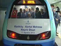 Kadıköy-Kartal metrosu açıldı