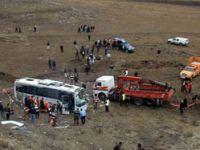 Erzurumda trafik kazası: 7 ölü, 29 yaralı