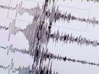 Manisa'da iki dakika arayla iki deprem