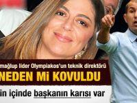 Olympiakostaki yasak aşk takımı karıştırdı