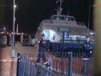 Deniz otobüsü kuru yük gemisi çarpıştı!